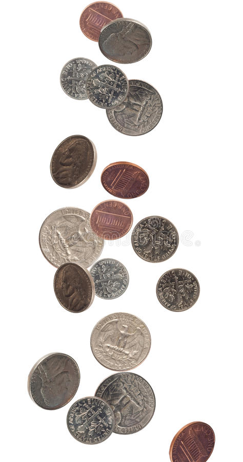 US coin currency stock photography