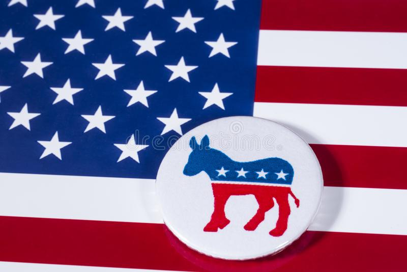 The Us Democrat Party Editorial Photo Image Of Badge 107076961