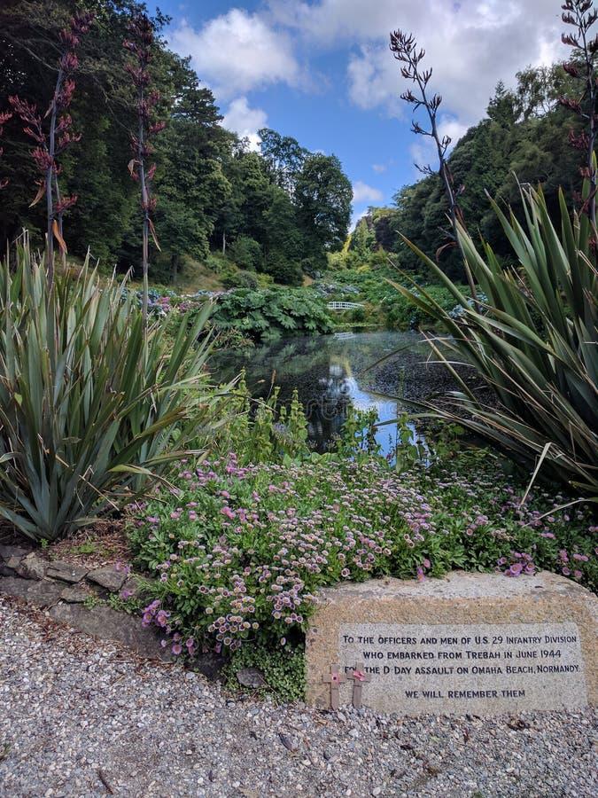 US-Denkmal für den Krieg tot im englischen Garten stockfotografie
