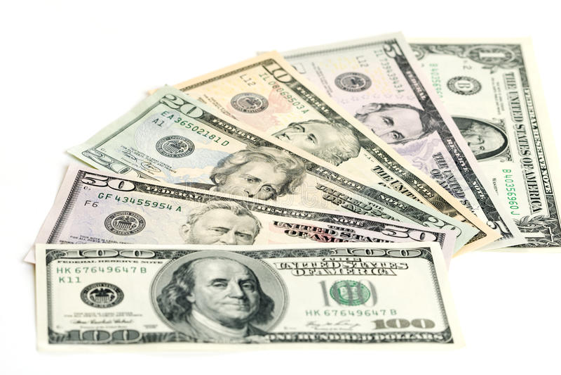 Download US Dollar Banknotes Stock Photos - Image: 9925233
