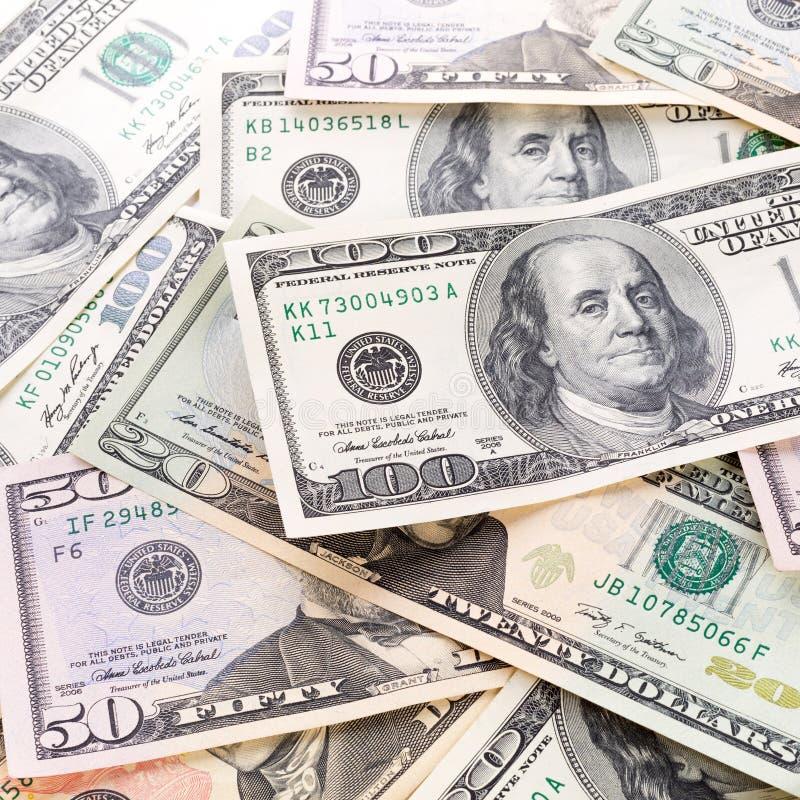 Dollar Banknotes Background Royalty Free Stock Photo