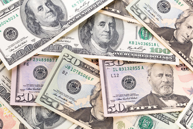 Download Dollar Banknotes Background Royalty Free Stock Photography - Image: 30227957