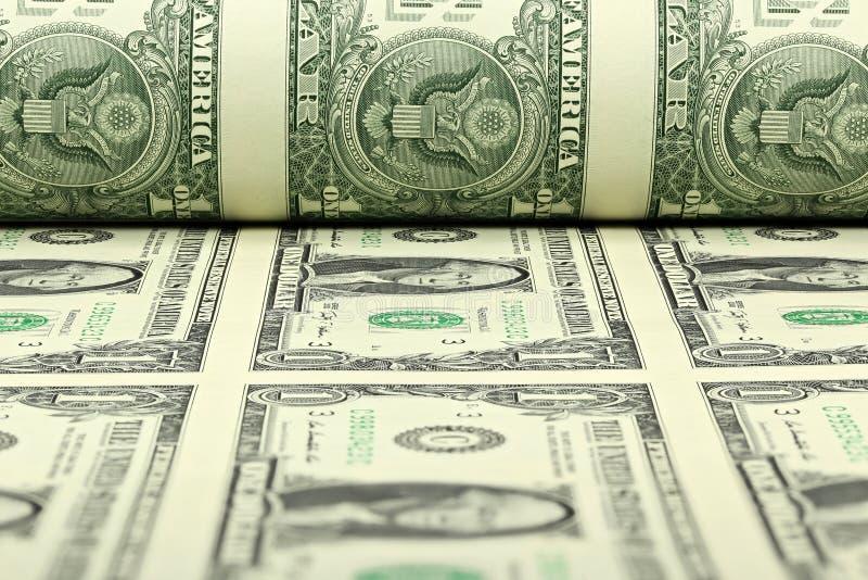 US-Dollar Blatt lizenzfreies stockbild