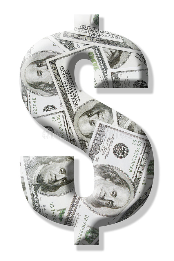 US dollar sign royalty free stock images