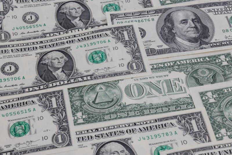US-Dollar Tapete lizenzfreies stockfoto