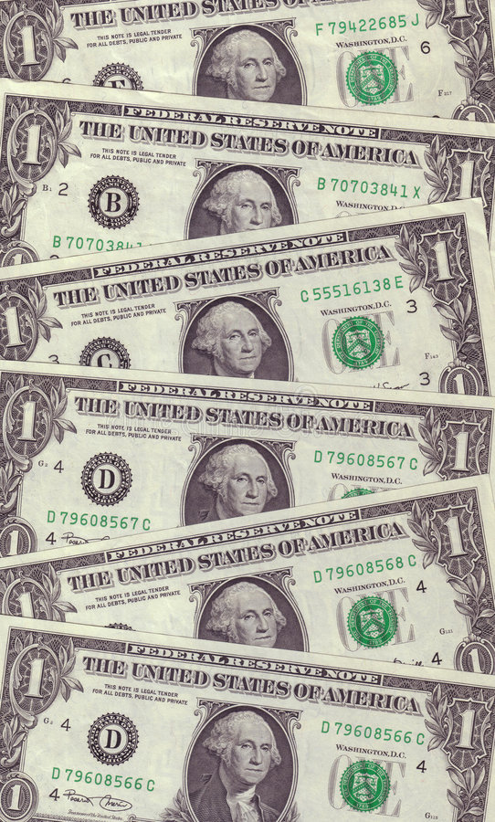 US Dollar Texture Background