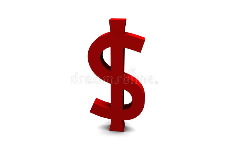 US-Dollar Zeichen stockbild