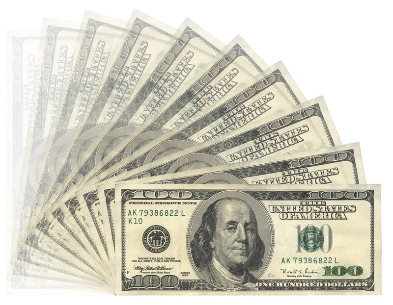 US-Dollars stockfoto