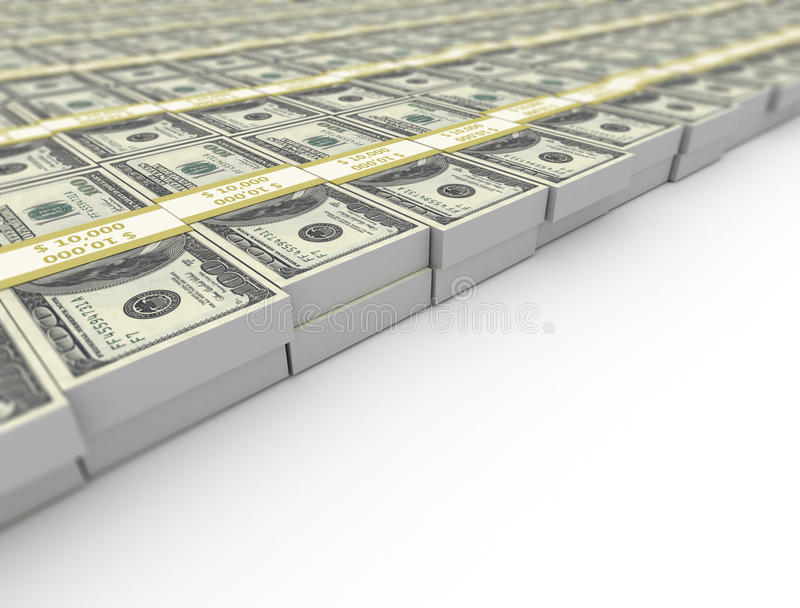 US dollars background royalty free stock photo