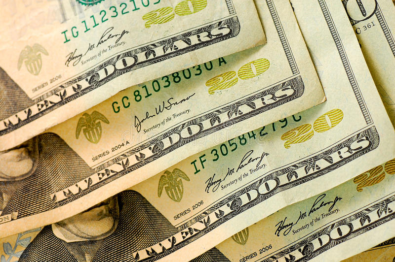 Us Dollars Money Royalty Free Stock Images