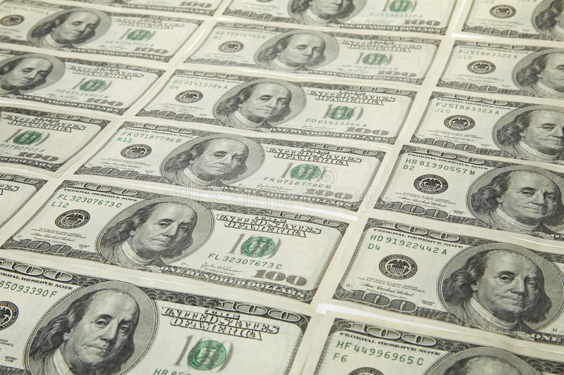 Download Us dollars in raw stock image. Image of currency, exchange - 18623821