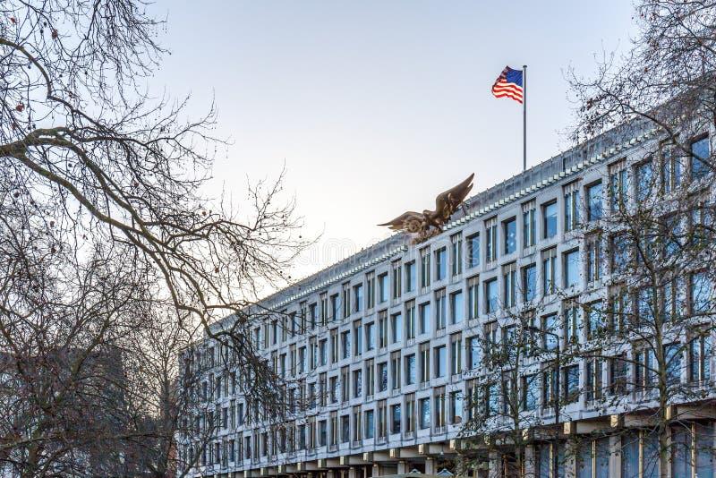 US embassy in London stock photos