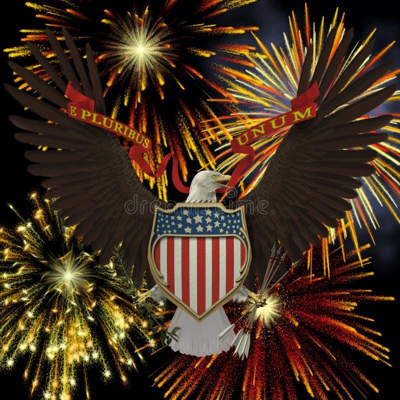 US Emblem stock images