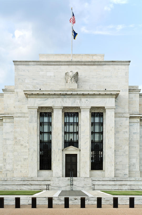 US Federal Reserve royalty free stock photography