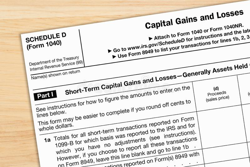 A US Federal Tax W2 Income Tax Form Stock Image - Image of