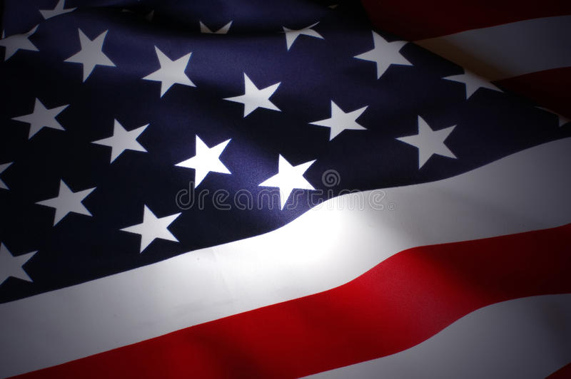 US Flag. As patriotic background stock photo