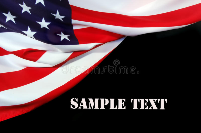 US Flag. As a patriotic background stock image