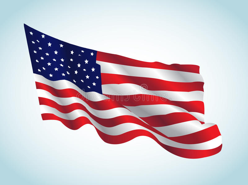 Download US Flag stock vector. Image of event, patriotic, freedom - 28461734