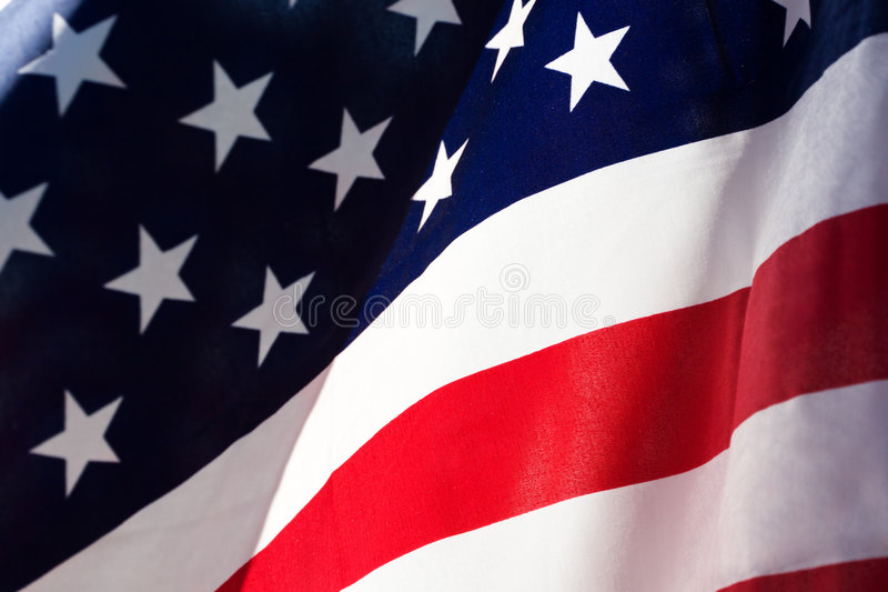 US Flag. Flag of the Unites States of America royalty free stock images