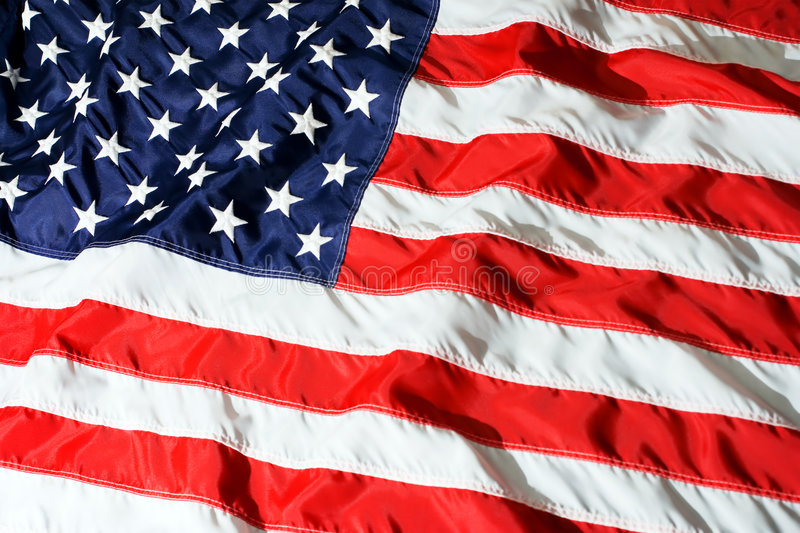 US flag. Flag of the United States of America stock photography
