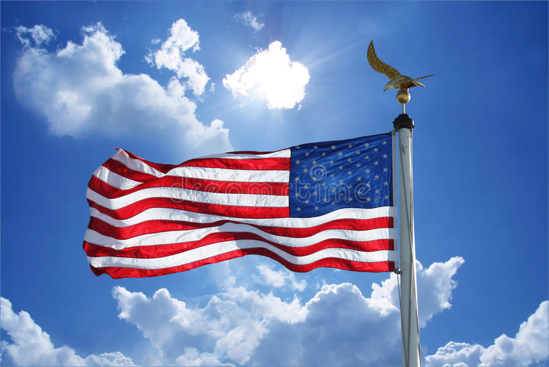 Download Stars and stripes. stock image. Image of blue, stripes - 29881233