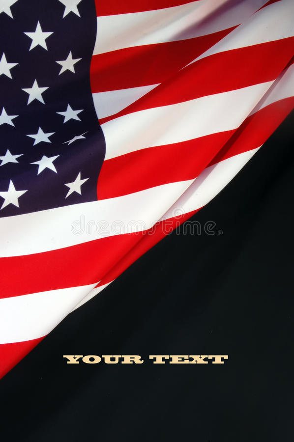 Us-flagga royaltyfria bilder