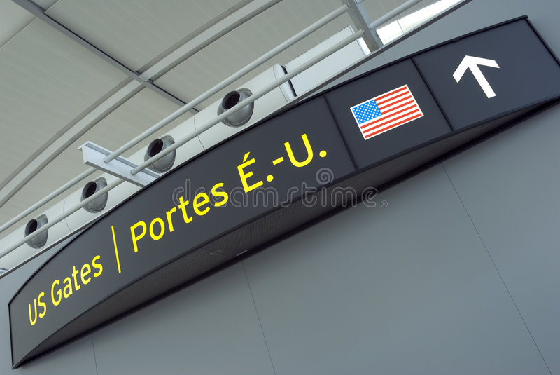 Download US Gates stock image. Image of arrival, directional, gate - 4710483