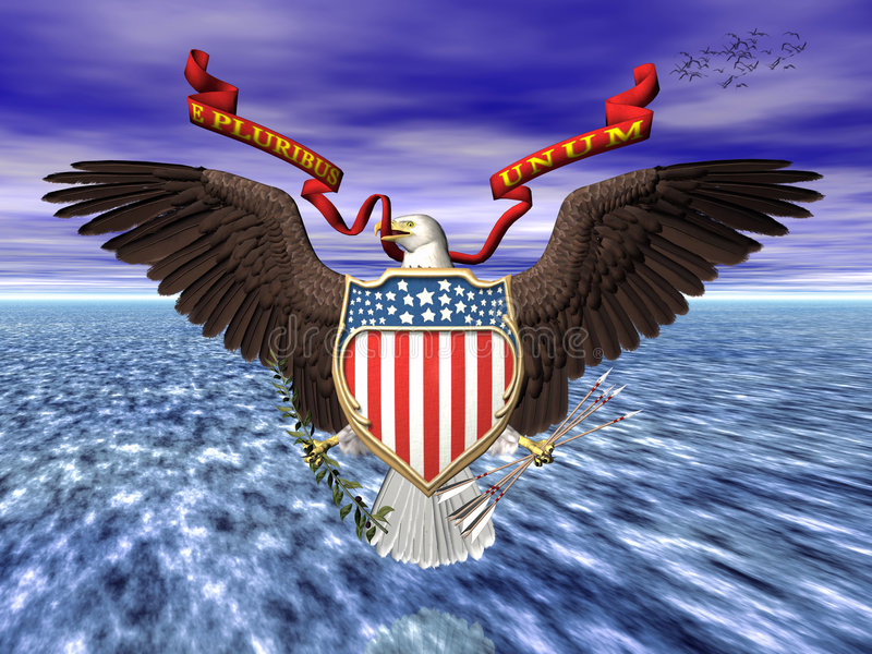 Us great seall, pride and freedom. vector illustration