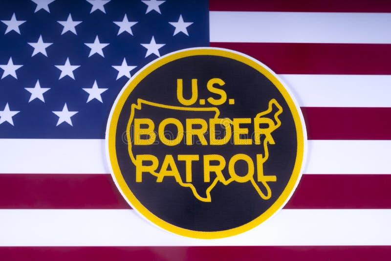 US-Grenzschutz lizenzfreie stockfotos