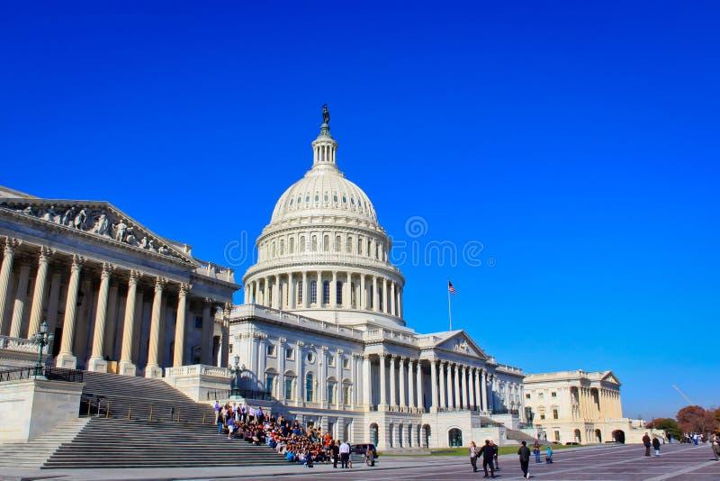 US-Hauptgebäude, Washington, Gleichstrom lizenzfreies stockbild