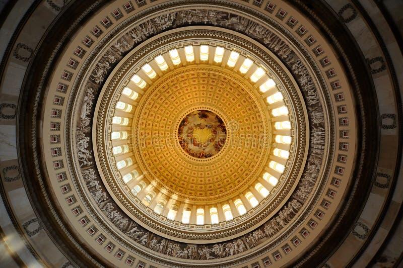 US-Kapitol Rundbau, Washington, Gleichstrom stockfotos