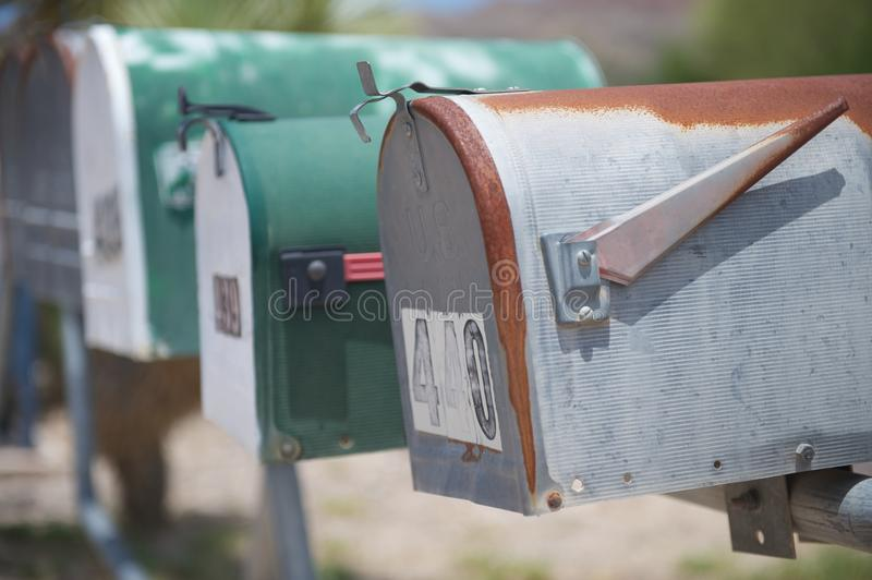 Download US mail boxes, TX, US stock photo. Image of postal, mail - 22604686
