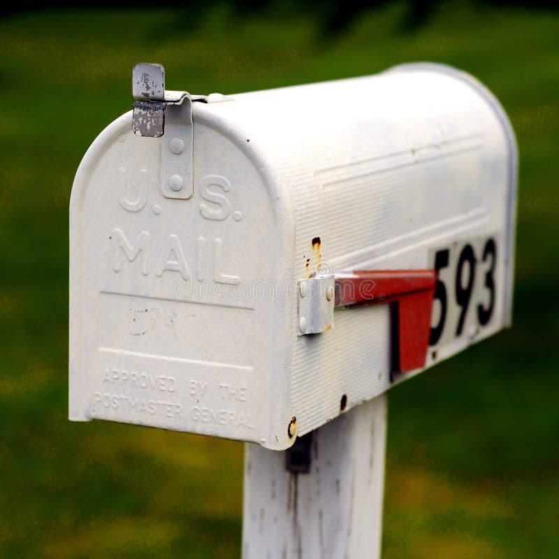 US-Mailbox stockfotos