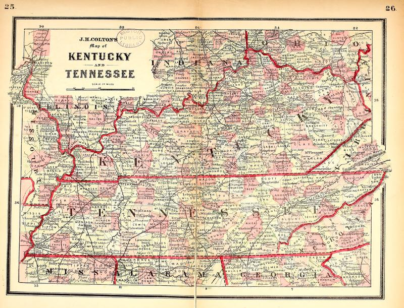 US map. Old image royalty free stock photos