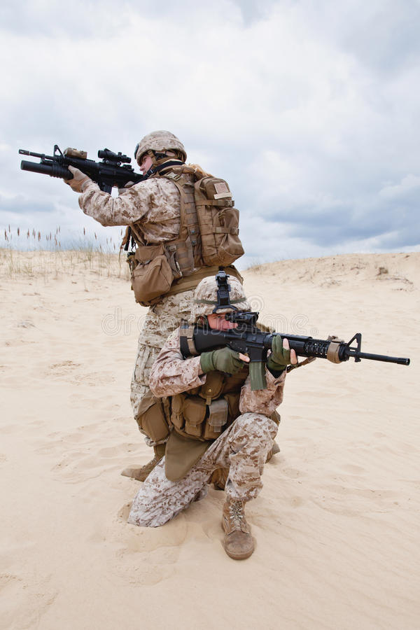 Download US marines stock image. Image of military, aiming, ranger - 28901817