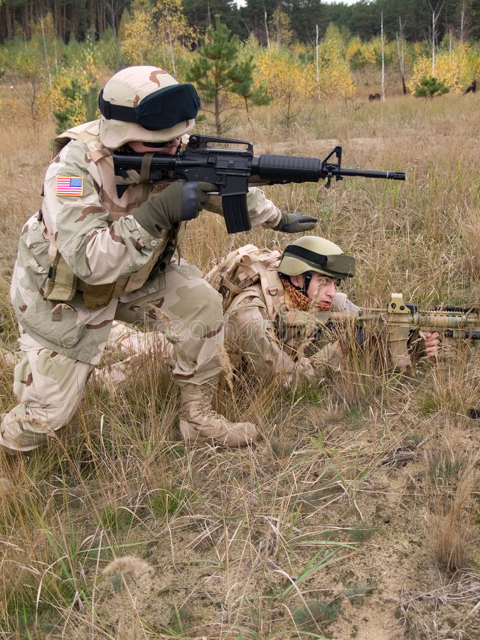 US Marines royalty free stock images