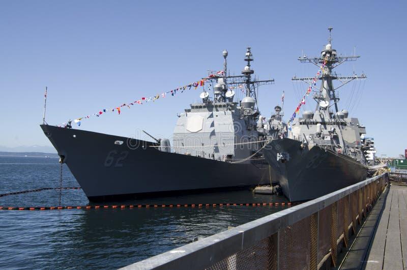 US-Marineschiff lizenzfreies stockfoto