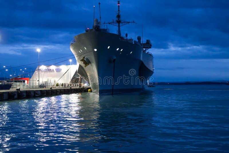 US-Marineschiff stockbild