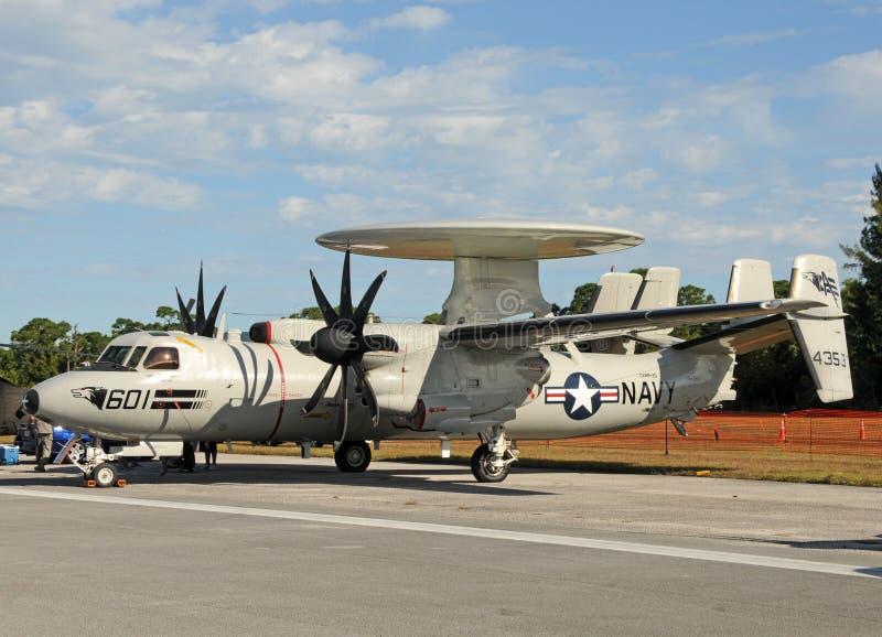 US-Marineuntersuchungsflugzeug lizenzfreies stockbild