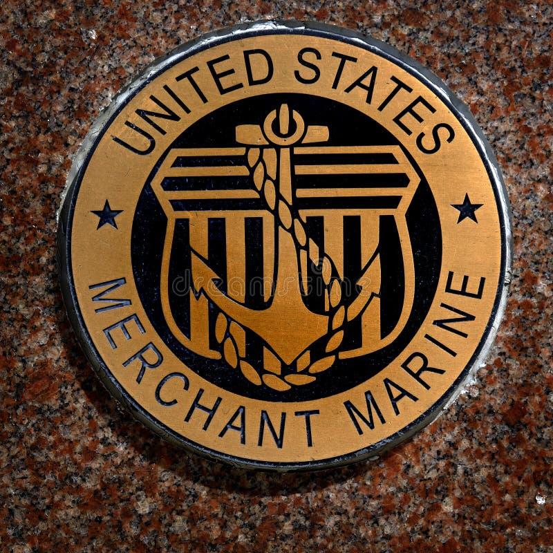 US-Militärsymbole für Vereinigte Staaten hält Marine-Marineluft instand lizenzfreies stockbild