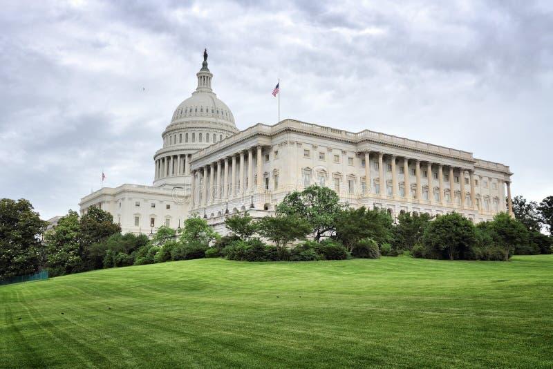 US National Capitol. In Washington, DC. American landmark royalty free stock image