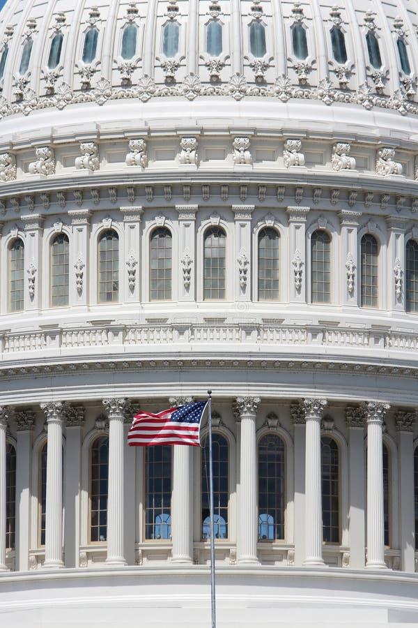 US National Capitol. In Washington, DC. American landmark stock image