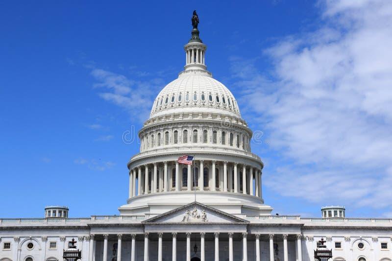 US National Capitol. In Washington, DC. American landmark royalty free stock images