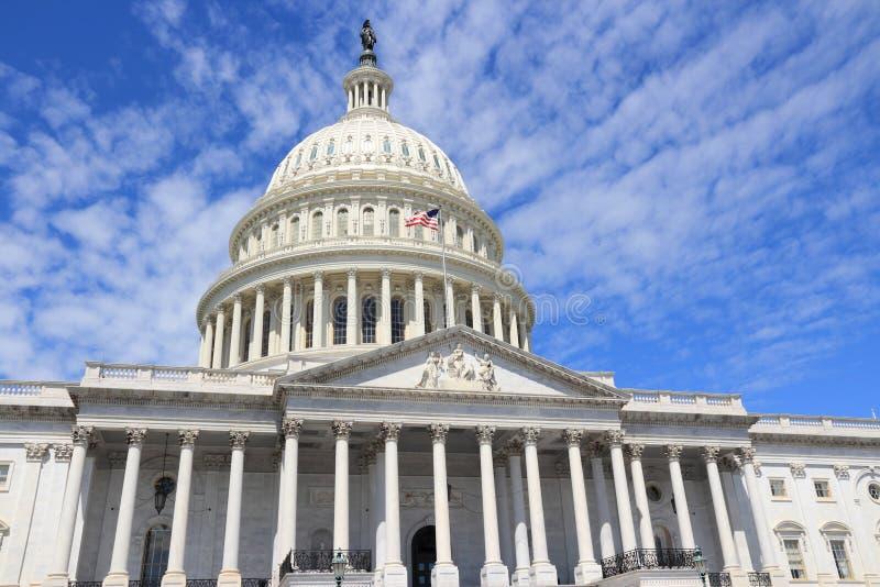 US Capitol. US National Capitol in Washington, DC. American landmark royalty free stock photography