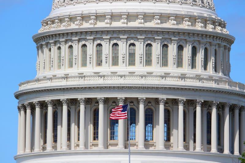 US National Capitol. In Washington, DC. American landmark. United States Capitol stock photography