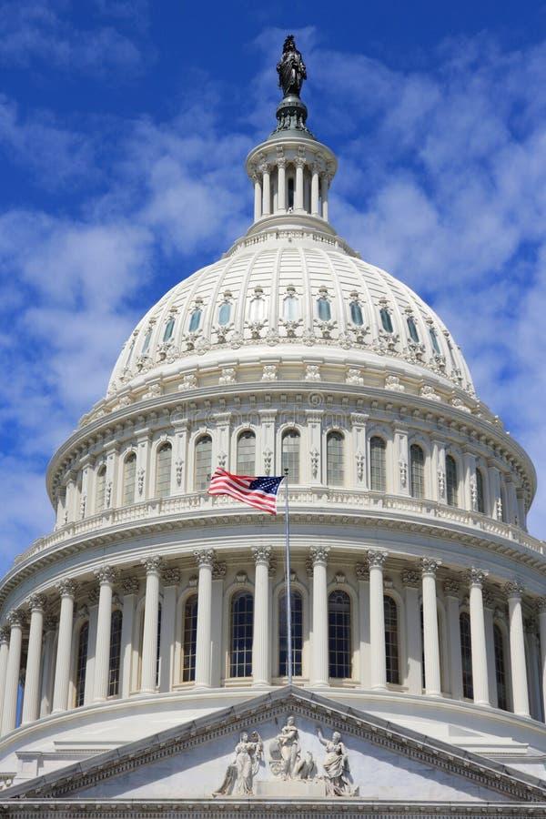 US National Capitol. In Washington, DC. American landmark royalty free stock photography