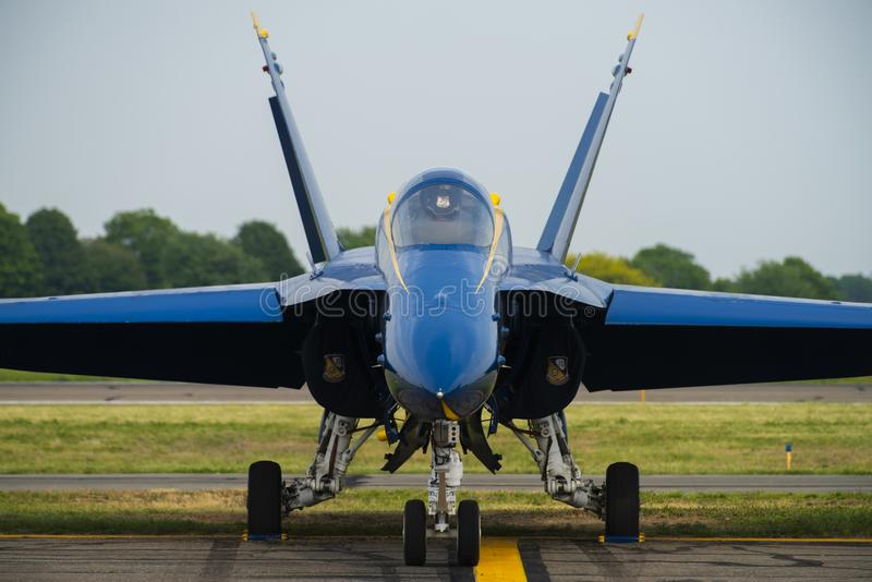 US Navy Blue Angels royalty free stock photos