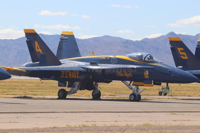 US Navy Blue Angels 1 royalty free stock image