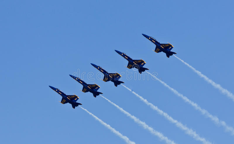 Download US Navy Demonstration Squadron Blue Angels Editorial Stock Photo - Image: 16493408