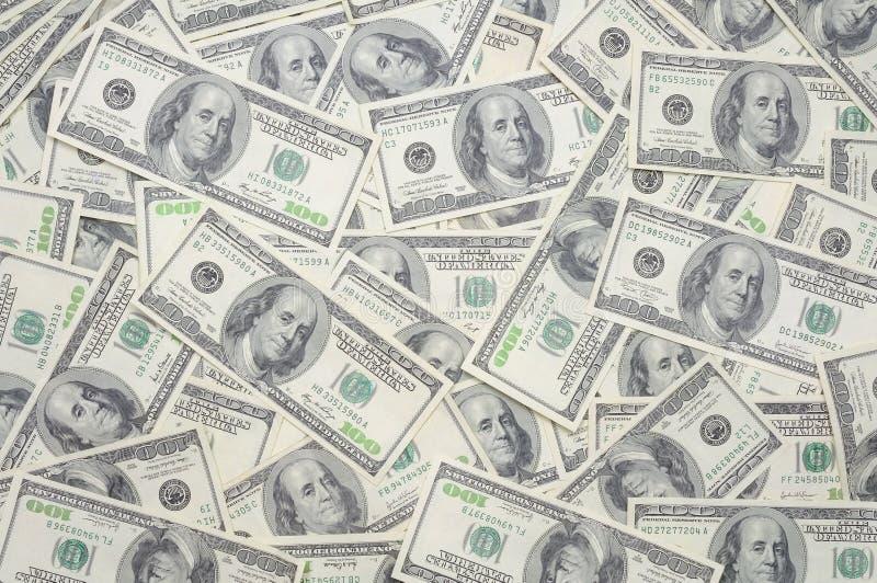 US One Hundred Dollar Bills Stock Photography